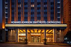 Chongqing Howard Johnson Jinyi Hotel Chongqing China, Asia Howard Johnson Jinyi Hotel Chongqing is perfectly located for both business and leisure guests in Chongqing. The hotel offers a wide range of amenities and perks to ensure you have a great time. Free Wi-Fi in all rooms, 24-hour security, daily housekeeping, fax machine, grocery deliveries are there for guest's enjoyment. Some of the well-appointed guestrooms feature locker, closet, complimentary tea, towels, carpeting....