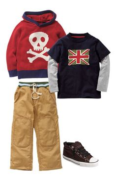Boden Hoodie and Tee