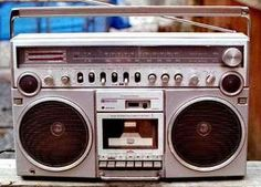 The Ghettoblaster! (also known as a Boombox)
