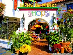 I want to live here. Bazar Del Mundo, Old Town San Diego. San Diego Shopping, Old Town San Diego, Visit San Diego, Just Shop, California Dreamin', Travel Usa, Jewelry Shop, Vibrant Colors