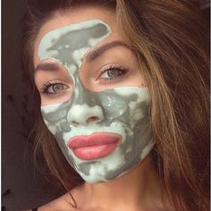Another beautiful customer using our glacial mud mask