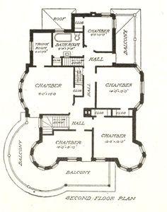 Sears Modern House #303. Secxond floor