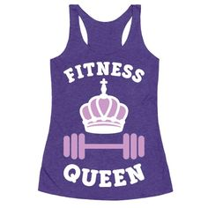 You're not only a fit girl, you are a fitness queen! Get your workout on in this girl power, fitness design! Perfect for a gym workout, fitness freak, funny fitness, exercise, running, lifting, a fit female and being a strong woman!