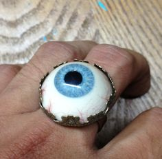 Eye Ball Ring by SnarlApparel on Etsy, $40.00