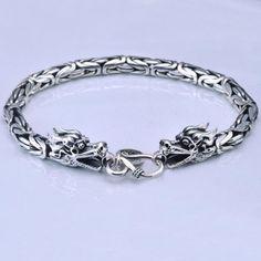 Mens Silver Jewelry, Silver Bracelets For Women, Sterling Silver Jewelry, Silver Earrings, Stud Earrings, 925 Silver, Silver Ring, Dragon Bracelet, Sea Glass Jewelry