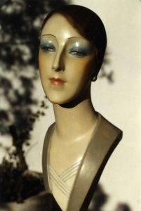 Mannequin Display, Vintage Mannequin, Mannequin Heads, Hat Stands, Flappers, Creepy Dolls, Arts And Crafts Movement, Interesting Faces, Cabaret