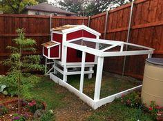 DIY Cool Design Chicken Coop stephmgeorge
