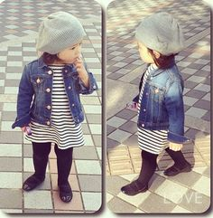 This Cute fall outfits ideas for toddler girls 43 image is part from 90 Cute Fall Outfits Ideas for Toddler Girls (Gorgeous Gallery) gallery and article, click read it bellow to see high resolutions quality image and another awesome image ideas. Winter Outfits For Girls, Cute Fall Outfits, Little Girl Outfits, Little Girl Fashion, Boy Fashion, Winter Dresses, Trendy Fashion, Dress Fashion, Fashion Outfits