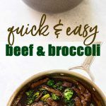 30-Minute Beef and Broccoli | Girl Gone Gourmet