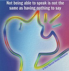 Not being able to speak is not the same as having nothing to say poster Special Needs, Sayings, Poster, Lyrics, Billboard, Quotations, Idioms, Quote, Proverbs