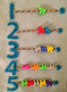 math activities that can be done with felt «School-Home Activities - Babyzimmer Ideen Diy Quiet Books, Baby Quiet Book, Felt Quiet Books, Baby Crafts, Felt Crafts, Crafts For Kids, Sewing Crafts, Sewing Projects, Sensory Book