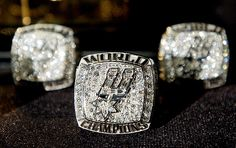 San Antonio Spurs NBA Championship Ring - 2003 San Antonio Spurs Basketball, Nba Basketball, San Antonio Spurs Championships, Nba Rings, Nba Championship Rings, Spurs Fans, Sports Today, Class Ring, Rings For Men