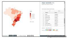 Crie um mapa de dados distribuídos geograficamente em segundos  Uma impressionante ferramenta online gratuita que permite criar gráficos com dados geolocalizados em segundos.  Tão simples quanto preencher uma tabela. Uma planilha melhor dizendo. Digite a região e o dado relacionado e o mapa vai aparece automagicamente. Eu estava cético quanto a real utilidade para mim. Afinal as suítes de escritório trazem mapas desse tipo bem genéricos. Com dados globais por continente ou no máximo a…