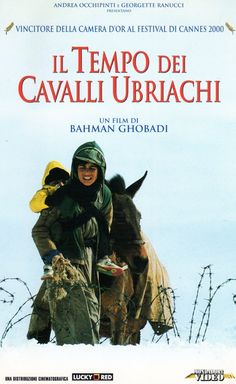 'Il tempo dei cavalli ubriachi' (2000); regia: Bahman Ghobadi. Titolo originale: 'زمانی برای مستی اسب‌ها‎‎'; titolo inglese: 'A time for drunken horses'