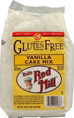 Bob's Red Mill Gluten Free cake mix tastes great!! Give it a try.