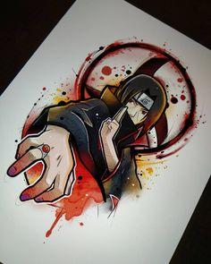 No hay descripción de la foto disponible. Naruto Drawings, Naruto Sketch, Naruto Art, Itachi Uchiha, Naruto Shippuden Sasuke, Boruto, Naruto Tattoo, Anime Tattoos, Anime Echii