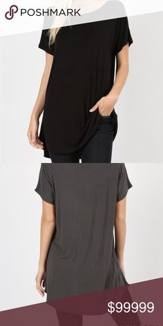 Rayon Spadex Loose fit and long length to wear with leggings Measured from  small - length chest Tops Tunics 0fc2169c314ce