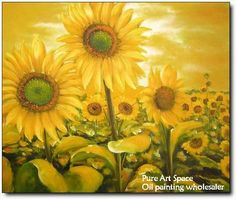 Gorgeous sunflower painting!!!