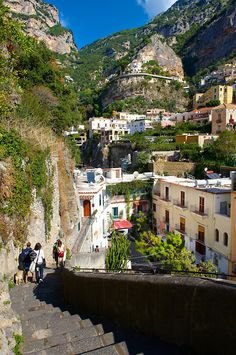 ~The fashionable  resort of Positano, Amalfi coast, Italy~   www.facebook.com/loveswish