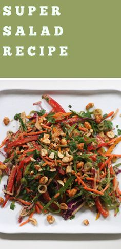 Thai Veggie Salad   Recipe