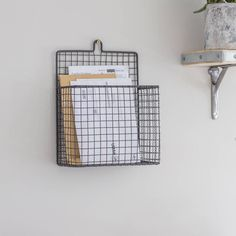 I've just found Wirework Letter Holder. A lovely new home gift that would also work well in commercial premises.. £24.95