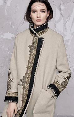 etro winter 2016-17 autumn classics outwear. From sophisticated embroidery  and golden studs to lace  details and sublime textures,  find your style inspiration