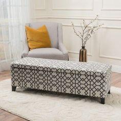 Wrought Studio Schmit Upholstered Storage Bench