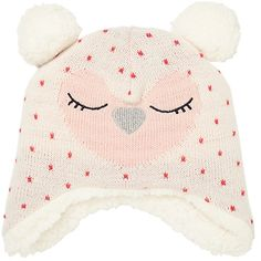 cf6edb54d Buy John Lewis Baby Knitted Owl Character Hat, Cream Online at johnlewis.com  Newborn