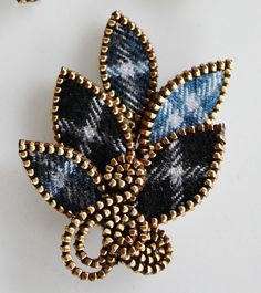 Tartan wool brooch | Flickr - Photo Sharing!