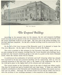 The University Art Building 1926.  From the 1927 Oregana (University of Oregon yearbook).  www.CampusAttic.com