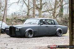 Rolls-Royce Silver Shadow | Lowered, Slammed, Stance