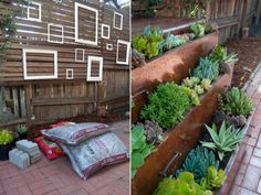 DIY: Make a small home garden from an old dresser   outdoors design gardens terrace    repurposing outdoor diy garden pots diy garden planters diy furniture projects diy