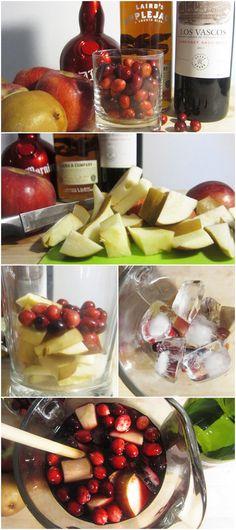 Cranberry, Apple & Pear Sangria