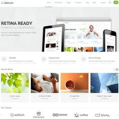 Astrum WordPress Theme for Online Business | Best WordPress Themes 2013