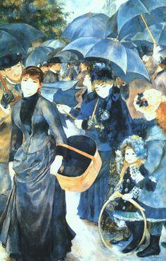 Umbrellas, Renoir