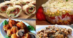 Przekąski - 20 najlepszych przekąsek na sylwestra! Polish Recipes, Party Snacks, Feel Better, Baked Potato, Sushi, Grilling, Food And Drink, Appetizers, Baking