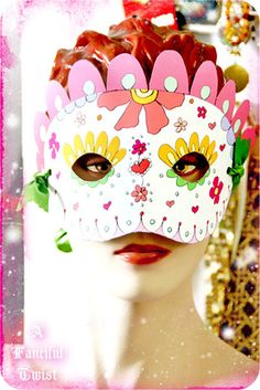 Printable Mask 1 By A Fanciful Twist Via Flickr