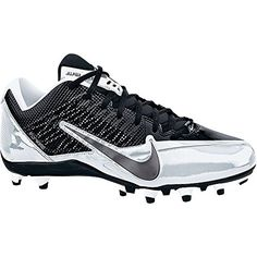 NIKE ALPHA PRO TD BLACK/GREY/WHITE MENS FOOTBALL CLEATS US 13 M EU
