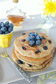 blueberry pancakes aprenda já!