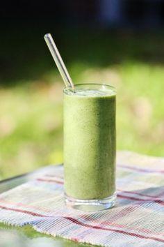 Raw avocado smoothie