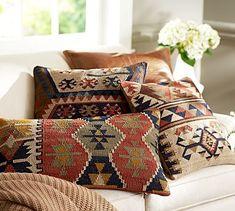 Shelton Kilim Pillow Cover #potterybarn