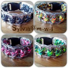 Vaarwens armbanden gemaakt van bliklipjes te bestellen via Sylvia@m-w-l.nl.  20 kleuren 5 euro waarvan 2 euro naar het goede doel gaat