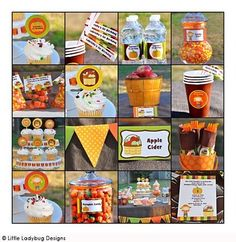 Pumpkin Birthday Party. Would be PERFECT for Adalyn since her birthday is so close to Halloween!