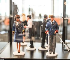 Style in the skies! #Qantas celebrate 95 years of #flightattendant uniforms with a little help from #Barbie and #Ken
