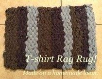Homemade Mamas: T-shirt Rag Rug!