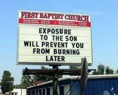 Church Signs Sayings | church signs