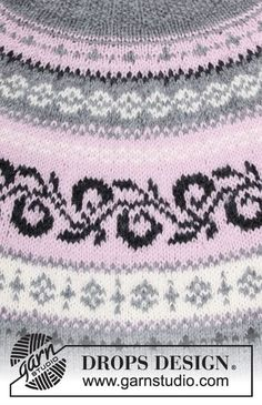 Telemark / DROPS - Free knitting patterns by DROPS Design Free knitting instructions Source by irisschweppebuxinski Baby Knitting Patterns, Knitting Charts, Knitting Designs, Knitting Stitches, Free Knitting, Knitting Sweaters, Stitch Patterns, Drops Design, Drops Baby Alpaca Silk