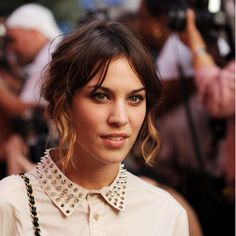 We're loving the studded collar trend! #studs #fashion #alexachung