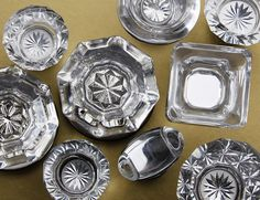 Glass Cabinet Knobs, via Flickr.  www.houseofantiquehardware.com  #glass #cabinet #knob
