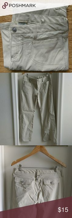 Athleta hiking khaki pants In great condition  Inseam 32 inches All reasonable offers considered! Athleta Pants
